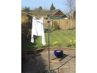 SMALL ROTARY WASHING LINE