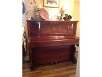 Broad wood and sons upright cottage piano circa 1897
