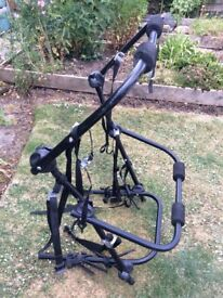 Car Cycle Carrier - Measures approximately 66 wide x 100cm high x 72cm deep