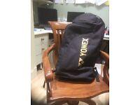 Yonex large black tennis bag