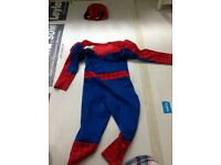 Spiderman and face masque included - dress up - Marvel - as good as new