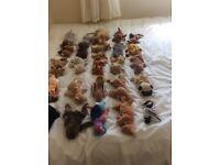 25 used beanie babies. £10