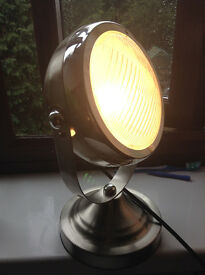 Chrome plated lamp