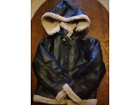 Flying Jacket with removable hood