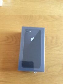 Brand new iPhone 8 64gb space grey factory sealed