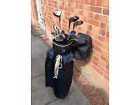 Set of Golf Clubs & accessories