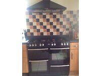Belling Range Cooker - good used condition, dual fuel, 7 ring hob