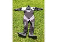 Oceanic Comfodry 5mm Drysuit. Used only once for pool training. Was £550.