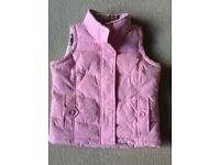 Joules Girls Pink Body Warmer
