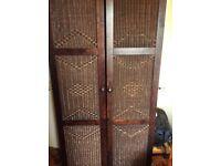 Morocco style bedroom suit in dark wood