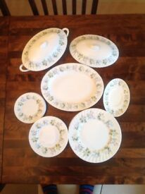 Minton Dinner service 20 pieces Spring Valley