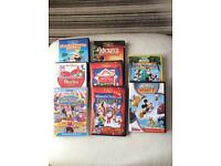 8 Disney Mickey Mouse dvds