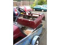 YAMAHA SMALL CAR SHELL WITH FRAME IDEAL PROJECT