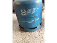 Gas cylinder reduced