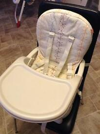 Mothercare high chair / Travel booster seat