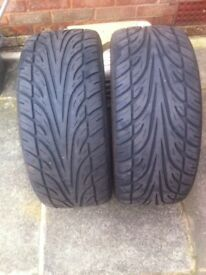 2 tyres as new