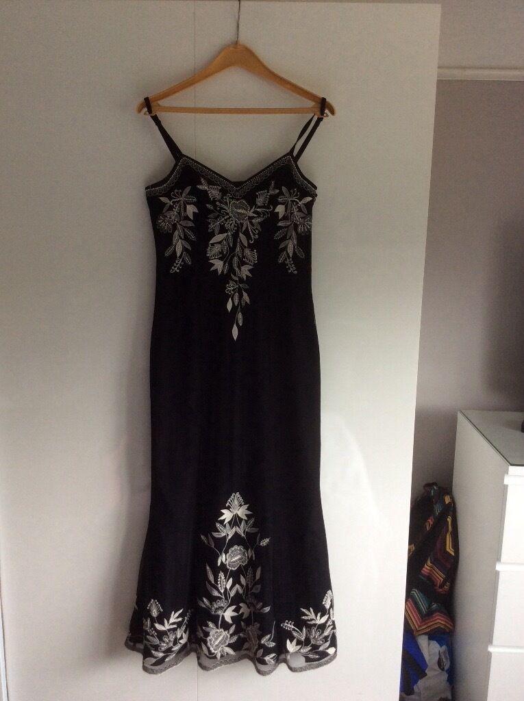 Classie Black Dress Size10