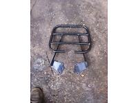 Honda cbf125 rear rack top box cbf