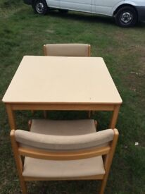 Parker Noel tables and chairs/coffee tables