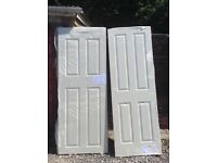 3 interior doors for sale 2 are69 cm and 1 is 76 cm brand new still in plastic