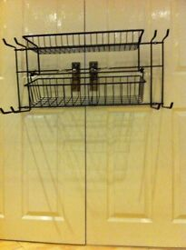 New boxed heavy metal basket organiser