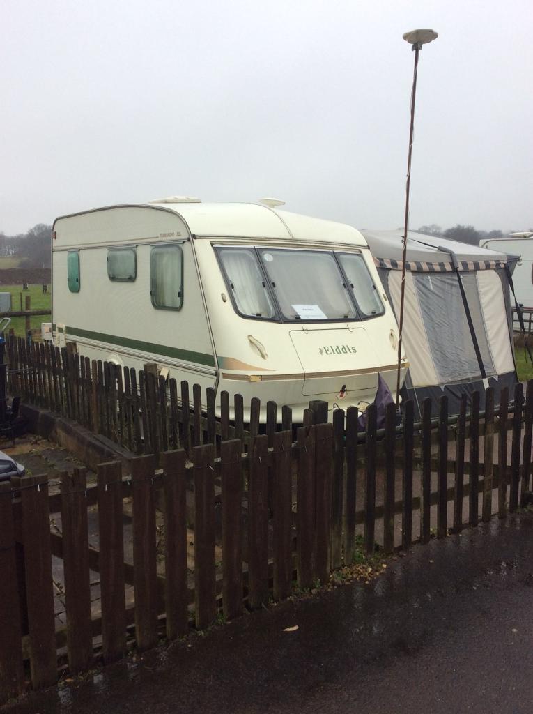 Elddis caravan