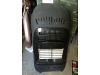 Calor Gas heater and gas bottle, hardly used
