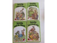 4 tasseltip ladybirds books