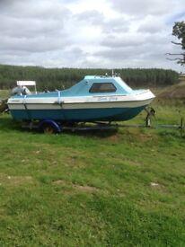 Sea fishing boat,two engines 40HP Honda,5HPseagull,plotter,gps,radio Plus Xtra,s,negotiable
