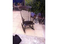 Used rocking chair