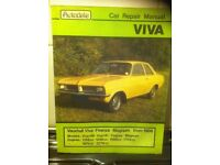 Autodata Manual For Vauxhall Viva, Firenza & Magnum