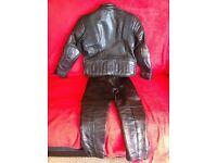 Black children's leathers