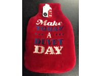 Hot Water Bottles ( only 2 left ) with covers