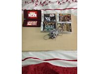 Nintendo DS with camera and 4 games