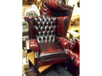 Chesterfield queen Ann chair