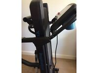 York inspiration treadmill excellent condition hardly used. Folds up in a corner when not in use.