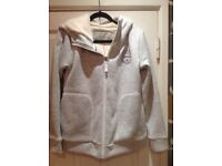 Ladies zip thru fleece lined jacket