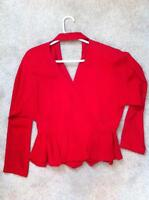 Red Skirt & Blouse - Very Eloquent