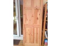 Six solid wood doors