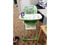 Chicco polly 2 in 1 high chair