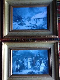 5 x Scottish Prints in quality Gilt effect frames. All approx 15in x 11in