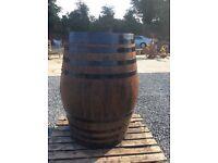 Solid Oak Whiskey Barrels for sale