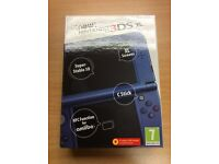 Nintendo 3DS XL New Style - Boxed With Manuals - Metallic Blue