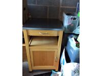 Wooden kitchen block / unit