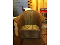 Lloyd Loom style chair or set of 4
