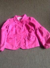 Pink jacket, Debenhams, age 10
