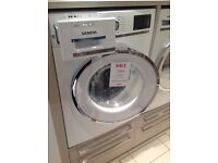 Free standing Siemens WM14Y891GB Washing Machine - Ex-display