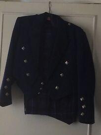 Men's tartan outfit