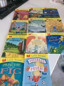 "Lovely series of books-Macmillan ""Let's Read"" series in almost new condition"