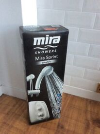 Electric Shower- Mira sprint 9.5kw white and chrome 1.0.419.32.1